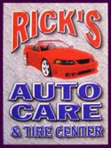 Ricks Auto Care & Tire Center | 540-636-4040 | 232 S Royal Ave, Front Royal VA 22630